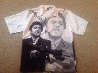 Original Scarface Movie Tony Montoya Universal Studios Club Shirt Xl Rare