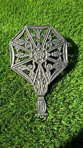 Ornate-cast-iron-trivet-stand-item-TV006