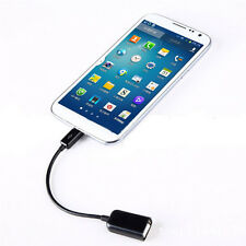 Micro USB 2.0 A Female to B Male Converter OTG Adapter Cable for Samsung HTC LG