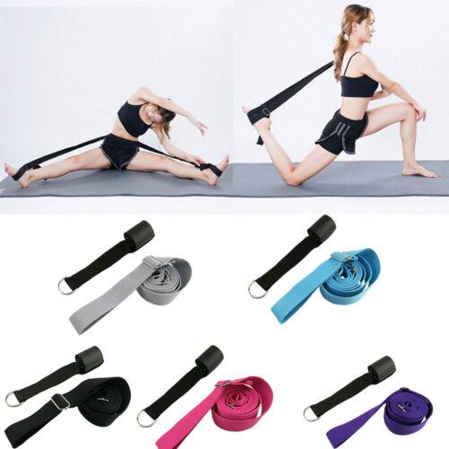 Set Leg Stretcher Strap Dance Yoga Gymnastic Belt Door Flexibility Stretch Band