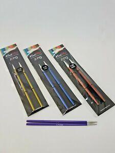 KnitPro Zing austauschbare Nadelspitzen Stricknadeln stricken alle Größen