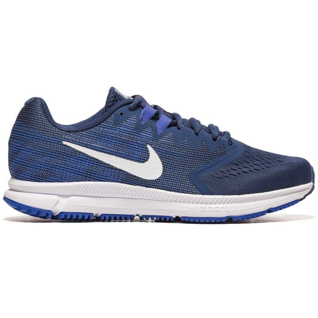 Nike air zoom über 2 laufschuh navy / Weiß hyper - royal leichtes carbon - 908990-403