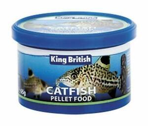 Actif King British Haute Protéine Naufrage Catfish Pellets 65 G-afficher Le Titre D'origine