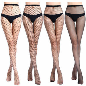 a5c7f2b287e Women Fishnet Stockings Sexy Tights Long Socks Thigh High Pantyhose ...
