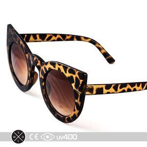 Tortoise Frame Fashion Glasses : Tortoise Amber Designer Fashion Round Half Frame Cateye ...