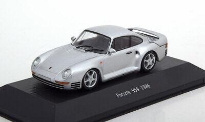 Porsche 959 1986 silber grau 1//43 Atlas 7114013