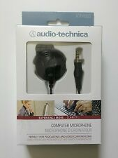 Audio Technica ATR4600 computer PC Microphone Condenser Mic 3.5 plug Jack mike