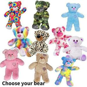 30b30f329c3 TEDDY BEAR MAKING KITS - build your own bear   Sound Box - no sewing ...
