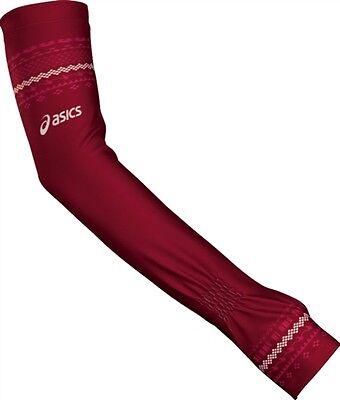 Women's Asics Tegan Arm Sleeves/Arm Warmers - Rumba, Size-M/L (Set of 2)
