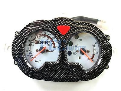 GY6 50cc Scooter Moped Speedometer Light Gas Gauge Jonway Roketa SunlBaja I SD04