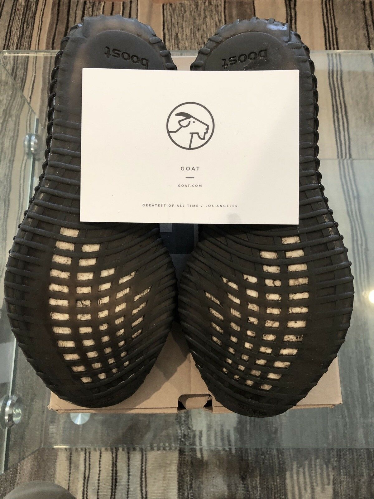 sale retailer e5272 6bcf6 Authentic Yeezy Oreo (GOAT Approved)