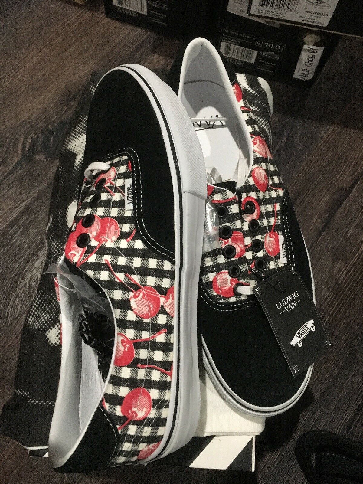Vans vault  Era 46 Lx Ludwig Van Cherry Bomd 9 Canvas Project Rare
