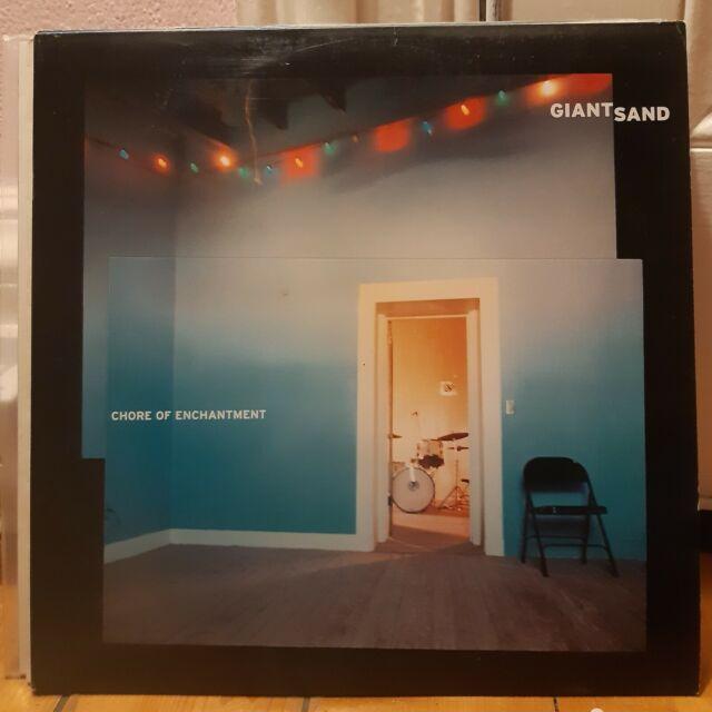 GIANT SAND - Chore of Enchantment- rare original press Double LP!!!
