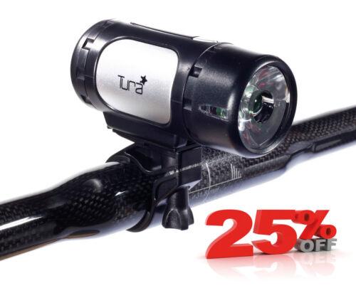 New Tura Europa High Power 1 Watt Bicycle Light In Black Free P/&P