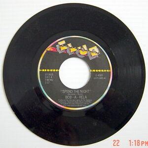 ONE-45-R-P-M-RECORD-BOB-A-RELA-SPEND-THE-NIGHT-TOBACCO-ROAD
