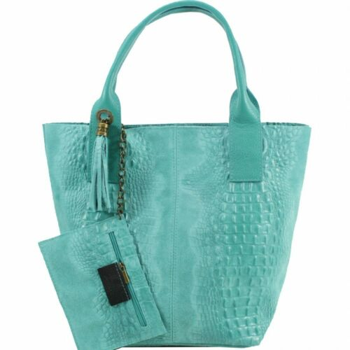 Ladies Soft Italian Leather Women Bag /& Purse Tote Satchel Shoulder VP210 Bag
