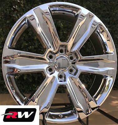Ford F 150 Oe Factory Replica Wheels 2016 2017 2018 2019 Platinum 22 Inch Chrome Ebay