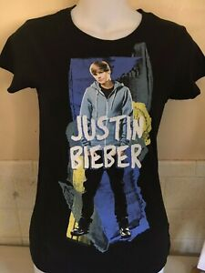 JUSTIN-BIEBER-OFFICIAL-YOUTH-XL-SIZE-14-16-T-SHIRT-POP-OUT-OF-PRINT