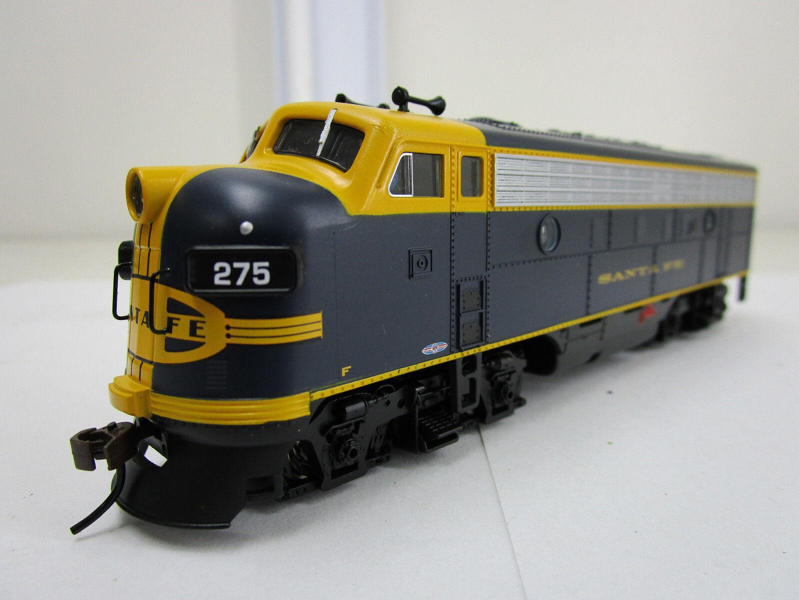 Bachuomon scala HO treno F7A Diesel Loco DCC suonotraxx SANTA FE  275