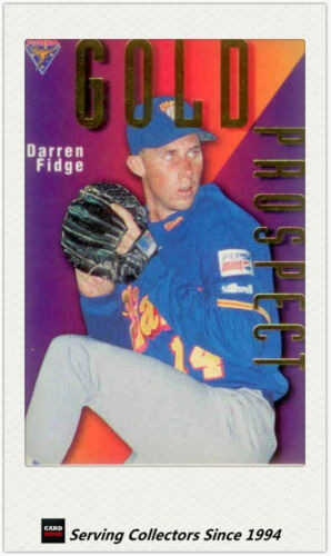 1996 Futera Australia Baseball Card ABL Gold Prospects Card GP4 Darren Fidge