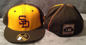 size 40 9ff99 a898d Image is loading San-Diego-Padres-New-Era-MLB-59FIFTY-Fitted-