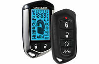Code Alarm Ca5554 Two-way Lcd Remote Start With Keyless Entry 2500 Feet Range