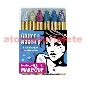 Boîte de 6 crayons maquillage,Kit<wbr/>,Déco,Carnaval<wbr/>,Accessoire,dé<wbr/>guisement,Fête