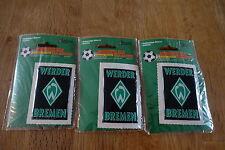 SV Werder Bremen 3 x Aufkleber NEU OVP