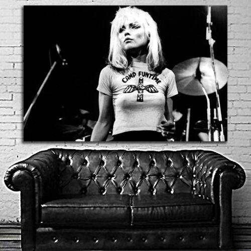 #01 Debbie Harry Blondie Rock Disco Pop 70s 80s Musician Large Print Poster