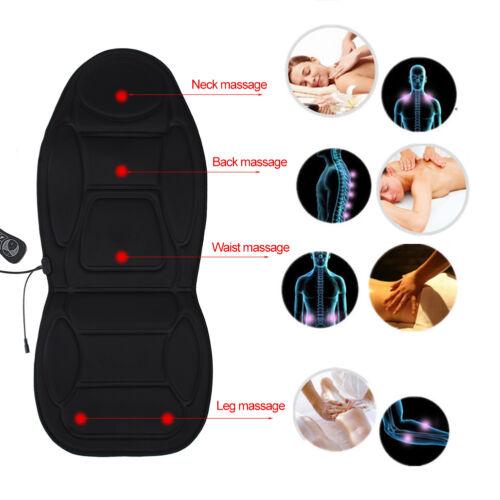 Beheizte Rückenmassage Sitzauflage Stuhl Massagegerät Kissen Lenden-Heizkissen