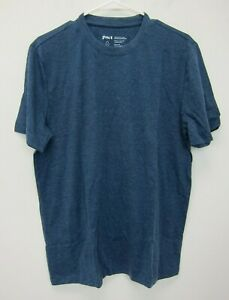 PACT-Men-039-s-Casual-Crew-Neck-T-Shirt-Large-Blue-New
