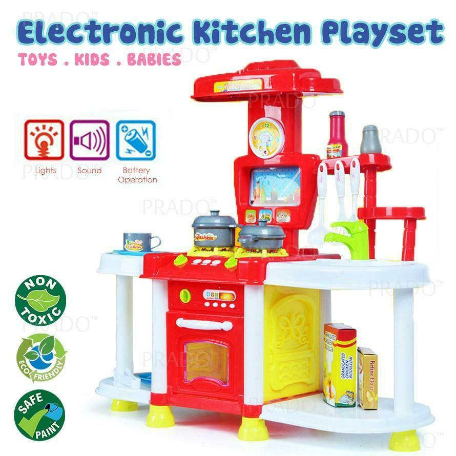 Play Set Toy Food Cooking Toddler Toys