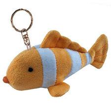 Clown Fish Plush Keychain NEW Toys Soft Stuffed Plushie Keyring Puzzled Inc