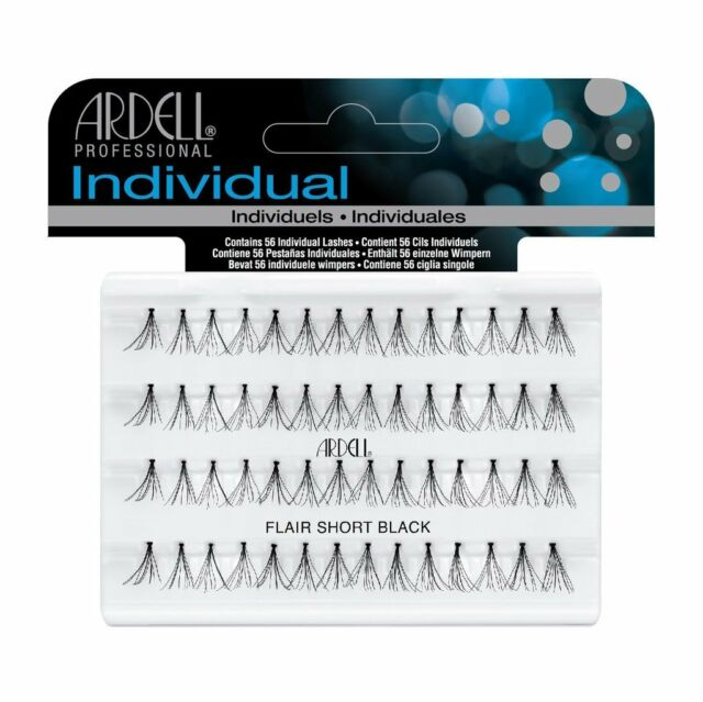 Ardell DURALASH FLARE Black Short Individual Lashes - Premium False Eyelashes!