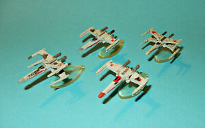 STAR-WARS-Micro-Machines-X-WING-SQUADRON-Red-Blue-Green-Collection-XIII-lot