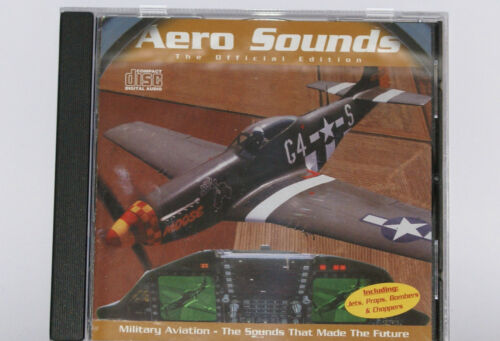 The Sounds That Made The Future Aero Sounds Volume I CD Military Aviation