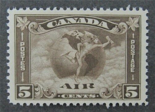 nystamps Canada Air Mail Stamp # C2 Mint OG NH UN$240 VF