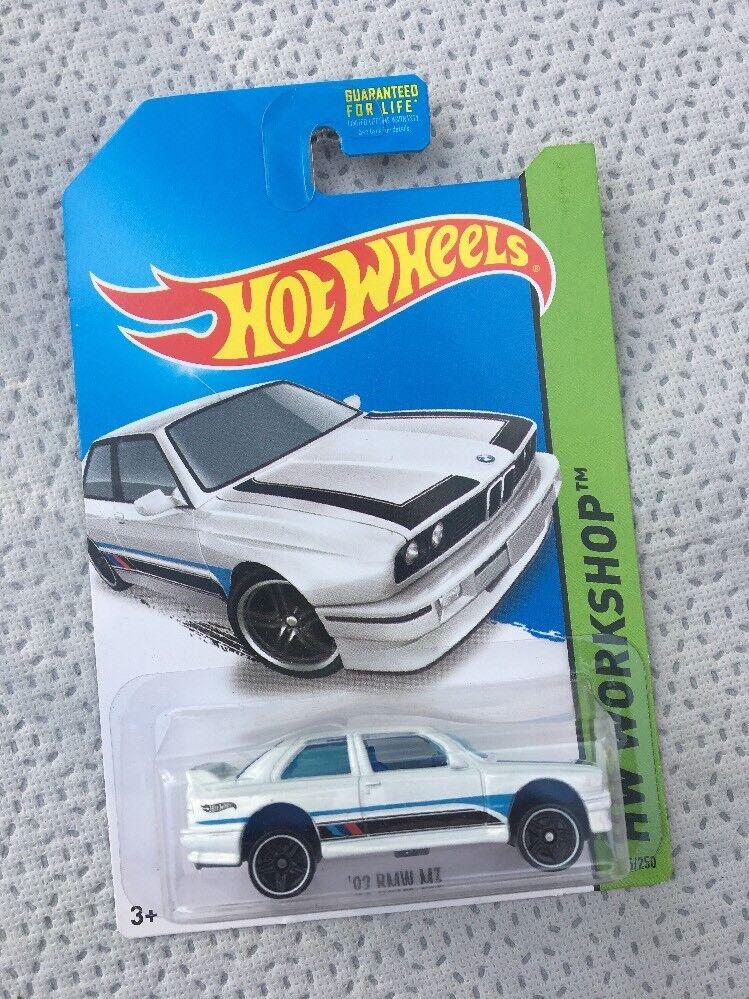 """Hot Hot Hot Wheels '92 BMW M3 """"RARE"""" KMART EXCLUSIVE ERROR 69a554"""