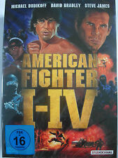 American Fighter 1, 2, 3, 4 - Michael Dudikoff, Ninja, Vernichtung, Auftrag Jagd