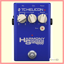TC Helicon Harmony Singer 2 Vocal Effects Processing Pedal