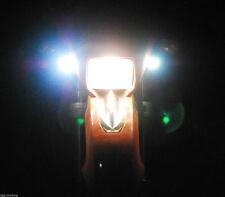 Motorcycle CREE lights LED fog street touring cruiser supermoto headlight 6000K