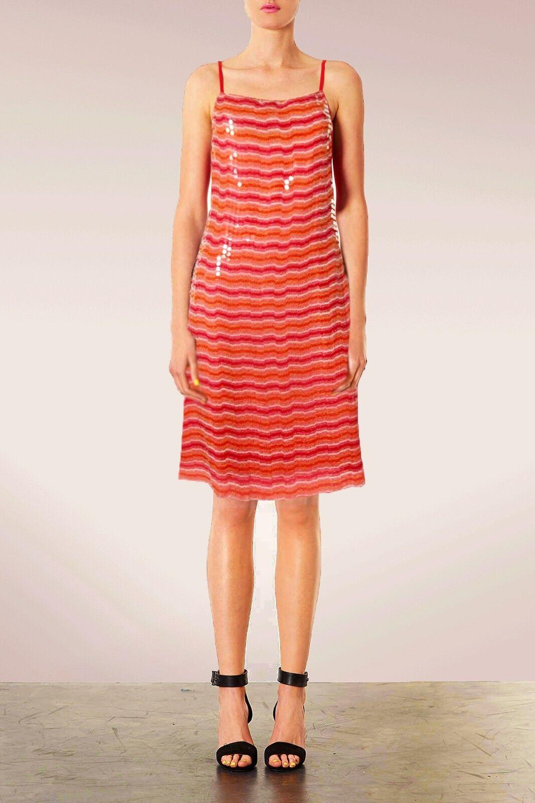 NEU RIMINI Damen Seide Orange Orange Orange Palletten Glänzend Spaghettiträger Kleide 38  269 | Verschiedene Waren  | Neu  | Toy Story  63a1d0