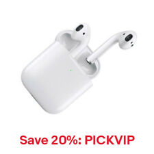 Apple AirPods Gen 2 w/Wireless Charging Case MRXJ2AM/A, 20% Off: PICKVIP