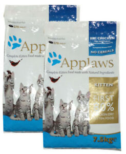 2 x 2 kg de nourriture pour chat Applaws pour chat, sans grain