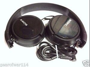 Sony-Genuine-MDR-ZX110-Stereo-Over-Ear-Swivel-Headphone-Black-MDRZX110