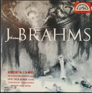 Scheibe-33-Time-Piano-Brahams-Konzert-Nr-1-IN-D-Mol-Karel-Ancerl