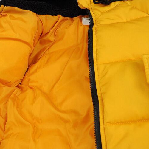 Kids Girls Boy Winter Warm Snowsuit Cotton Down Jacket Hooded Short Coat Outwear
