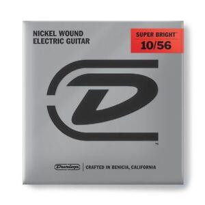 1056-Dunlop-DESBN-Jim-chitarra-elettrica-stringhe-7-Stringa-nichel-Medio-10-56