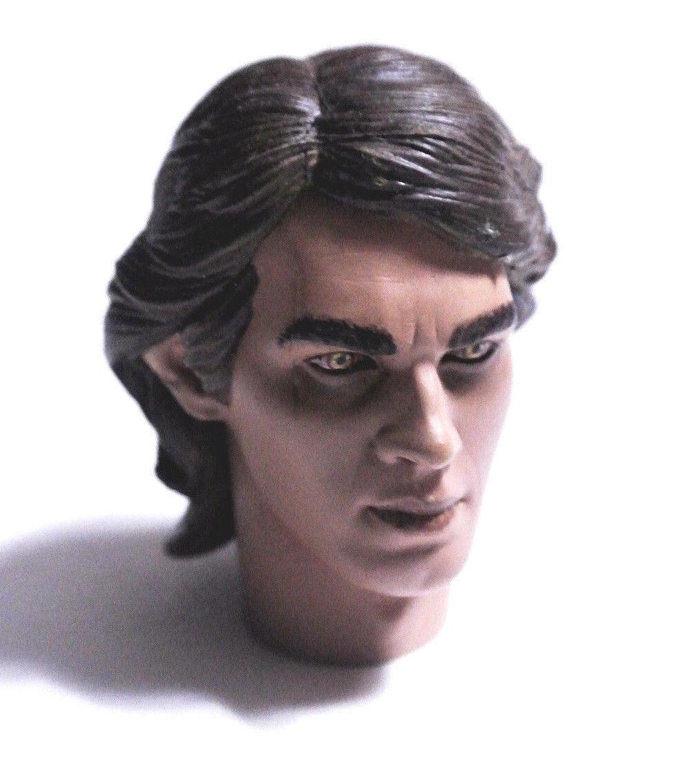 1/6 Sideshow Eye Star Wars Anakin Skywalker Sith Eye Sideshow Dark Side Head sculpt Hot toys 2e722a