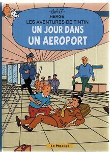 Pastiche-Tintin-Un-jour-dans-un-aeroport-Hors-Commerce-cartonne-40-pages